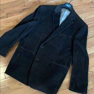 Brown Chaps corduroy blazer